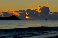 Sunrise over Waimanalo